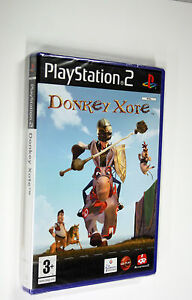 JEU-SONY-PS-2-donkey-xote-neuf-vf-blister