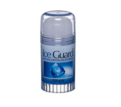 Ice Guard Natural Crystal DEODORANT STICK 120g   [PACKAGING MAY VARY]