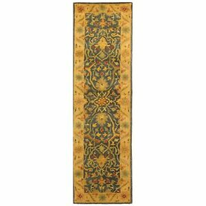 Image Is Loading Safavieh Antiquity Blue Wool Rug 2 039 3