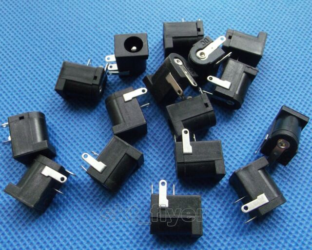 16pcs 5.5 X 2.1 mm DC Power Supply Socket Jack Female DIY
