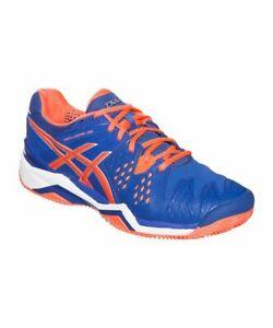 Details zu Asics Gel Resolution 6 Clay Herren Sportschuhe Tennisschuhe Turnschuhe Größe 46