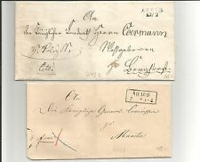 Preussen V. / AHAUS 13/2, L2 (m. Dat.-Stempel) auf Brief n. Borghorst + Ra2 auf