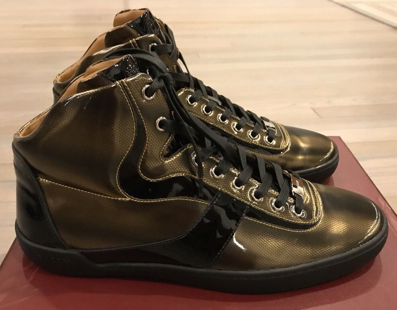 700 Bally Eroy 01 size oro High Tops 01 size 01 Tops 14 df7804   45f432