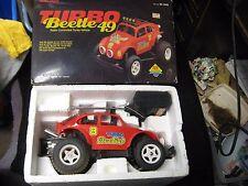 Vintage Turbo Beetle 49 Radio Shack Off-Road Buggy RC Car 60-4068 w/ Box