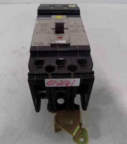 SQUARE D 100A 2 POLE CIRCUIT BREAKER FDA241002