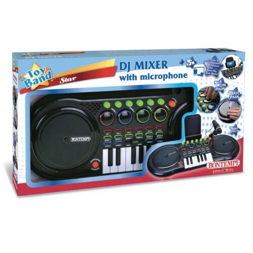X11643 GIODICART DJ MIXER CON MICROFONO BONTEMPI