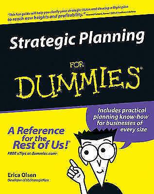 Strategic Planning For Dummies by Olsen, Erica