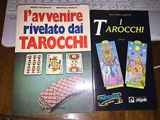 L'AVVENIRE RIVELATO DAI TAROCCHI  22 ARCANI DA RITAGLIARE PICOLLO +CAPRIOTTI