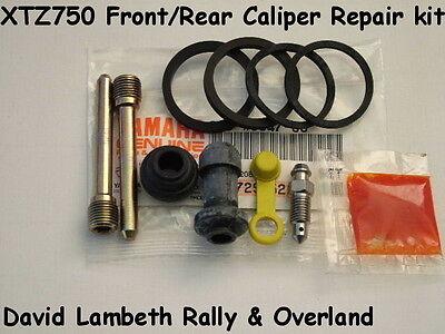 Yamaha XTZ750 Super Tenere Brake Caliper Repair Kit F&R