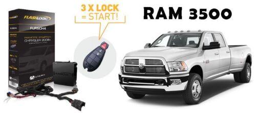 Flashlogic Remote Start for 2012 RAM 3500 Diesel Pickup w//Plug And Play Harness