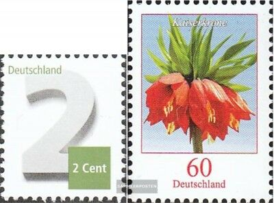fr.germany 3042,3043 Fine Used / Cancelled 2013 Drawing Numbers Frd Flowers Promoting Health And Curing Diseases