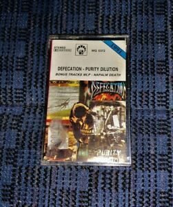 Death-Metal-Defecation-Purity-Dilution-VG-Cassette-Tape-MC-Played-Rare