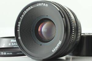 As-Is-MAMIYA-G-75mm-f-3-5-con-lente-MF-L-Cappuccio-per-nuovi-MAMIYA-6-DAL-GIAPPONE-10581