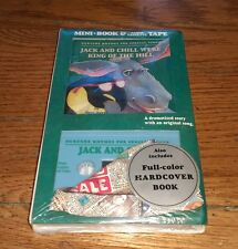 Jack And Chill Were King Of The Hill Mini Hardcover Book & Audio Cassette Tape