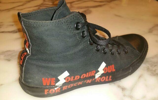 Converse Black Sabbath All Star HighTop We Sold our Soul Men's 98Women 10 E 42.5