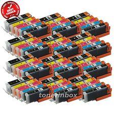 60pk PGI-250XL CLI251XL Ink Set For Canon Pixma MG5420 MG5520 MG6320 MX722 MX922