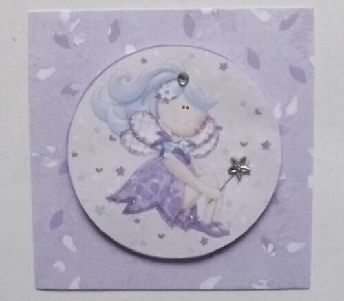 PK 3 WISHING STAR FAIRY EMBELLISHMENT TOPPERS FOR CARDS