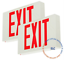 LED-Emergency-Exit-Light-Sign-Battery-Backup-UL924-Fire-Red-GREEN-Letter thumbnail 3