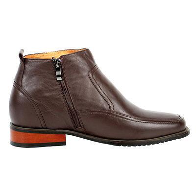 "CYD21 Short Men Dress Shoes To Make Height 3/"" Taller"