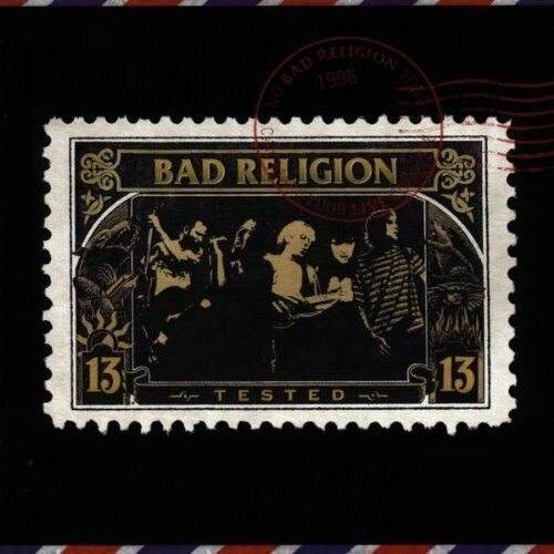 1 von 1 - Bad Religion ‎- Tested / SONY RECORDS CD 1997 (486986 2)