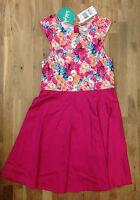 The Lost Girls Whiz Kids Dress, Multi Color, Size 12, Msrp $69