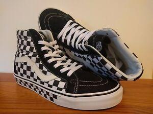 vans sk8 hi checkerboard uk