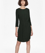 4f96218c2e5612 French Connection Womens Elsa Long Sleeved Draped Jersey Dress ...