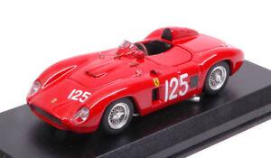 Ferrari 500 Tr # 125 Vainqueur Scca Laguna Seca 1957 P. Lovely 1:43 Modèle 0381