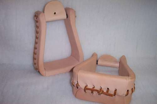 RIDERS CHOICE LEATHER ROPER STIRRUPS RANCH MADE HERE IN ALABAMA FREE US SHIPPING