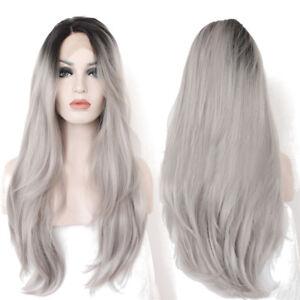 30-034-Dentelle-Perruque-Cheveux-Gris-Ombre-Longue-Haute-Densite-Bresilien-Femme