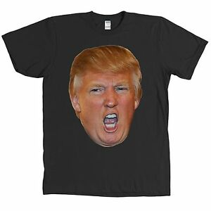 Donald trump 2016 presidential campaign t shirt angry face for Donald trump tattoo shirt
