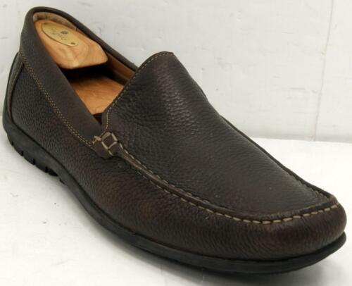 45 Loafers Leer Soft Moc Sz Instappers 11 Schoen 5 Toe Ecco Bruin M 11 HUZzxqww