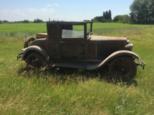1929 Chevy national 98% complete all original motor running