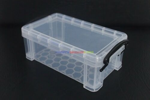 "NUOVO Mini Storage Box Case Clear Trasparente per 12/"" 1//6 Action Figure barbiedoll"