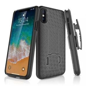 For-iPHONE-X-XS-5-8-HARD-SHELL-CASE-SWIVEL-BELT-CLIP-HOLSTER-COVER-KICKSTAND