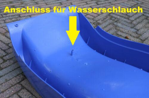 Wellenrutsche der neusten Generation Wasserrutsche Anbaurutsche 300cm apfelgrün