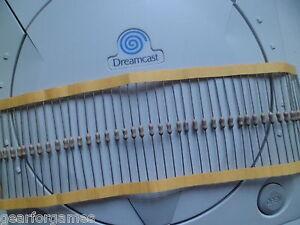 Sega dreamcast internal controller fuse repair quick blow 0 5a ebay