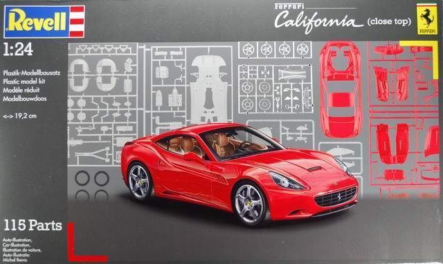 KIT REVELL 1:24 AUTO DA MONTARE FERRARI CALIFORNIA 07191