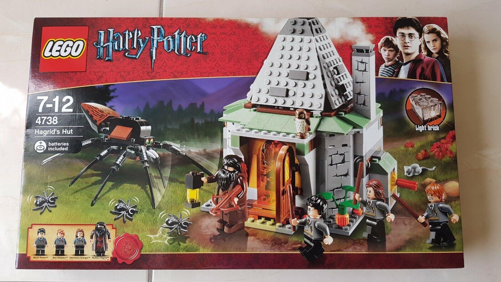 Lego 4738 Harry Potter  Hagrid's Hut - Brand nouveau In Box - Rare Retirouge Set  présentant toutes les dernières mode de la rue haute