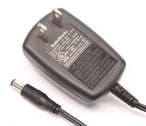 RadioShack 15-1878 AC DC Power Supply Adapter Output 12V 100mA for RCA Antenna