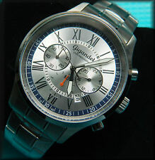GIGANDET Chronograph:SEIKO Movt:Boxed g'teed:Stainless:48mm:Herenuhr:Roman:Bona!