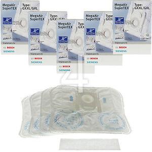 20-Genuine-Bosch-Microfibre-Vacuum-Dust-Bags-Type-G-GXXL-GXL-MegaAir-SuperTEX