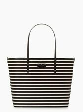 AUTH. BNWT KATE SPADE NEW YORK NYLON STRIPE HARMONY BABY DIAPER BAG $318