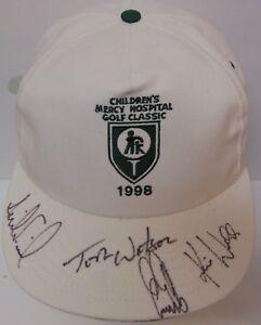 1998-SIGNED-PGA-GOLF-HAT-TOM-WATSON-ERNIE-ELS-ANNIKA-SORENSTAM-KARRIE-WEBB