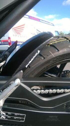 12+ Honda NC750S//NC750X Carbone Véritable Revêtement arrière