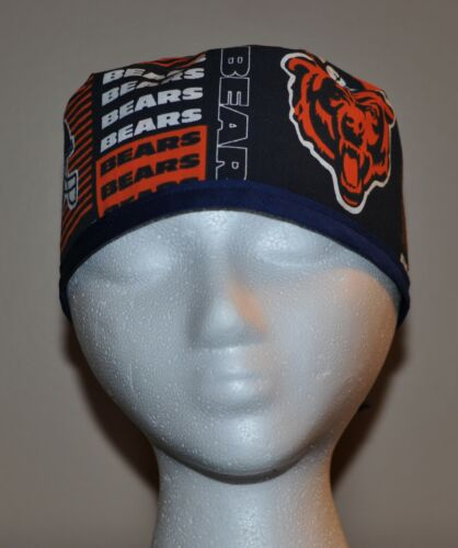 Men/'s Chicago Bears Scrub Cap//Hat One Size Fits Most