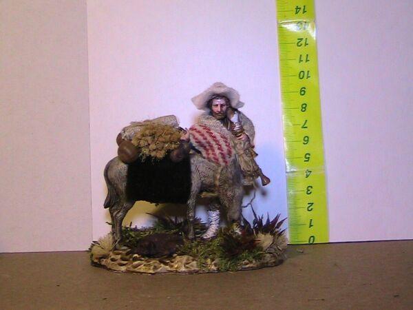 Rapimento Bella Statuina Per Presepe Rivestita In Tessuto Serie Cm 10 Disponibile In Vari Disegni E Specifiche Per La Vostra Selezione