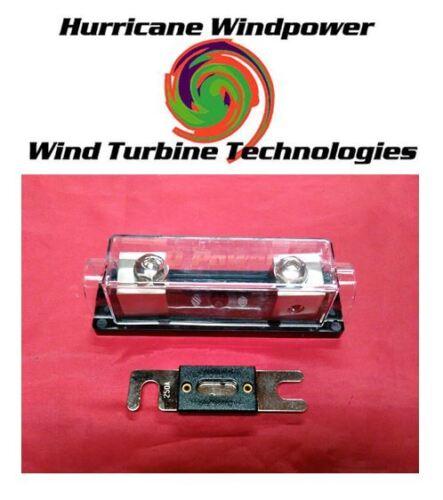 250 Amp DC ANL Holder & Fuse Inverter Wind Turbine Wind Generator Solar Panel