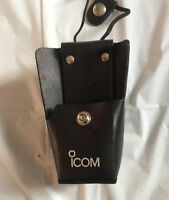 Icom Lc-bf12cp Loop Radio Leather Carrying Case-new
