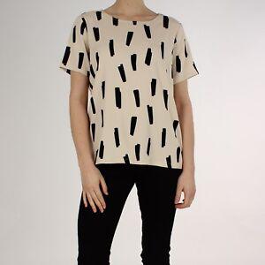 Just Scandi Nude 36 Beige Nwt Tshirt 8 Agnette Xs Top Female Silky 105 £ wInxrY4Fn6